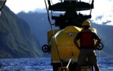 Field Work Off Moloka'i's North Shore