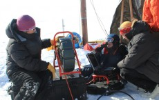 Taking Ice Cores in Greenland