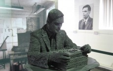 Slate Structure Honoring Alan Turing