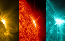 NASA's SDO Captures Mid-Level Solar Flare
