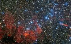 NGC 3590 Star Cluster