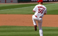 Adam Wainwright of the St. Louis Cardinals underwent a Tommy John procedure a couple of years ago.