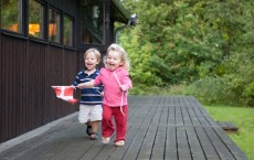 Happy Child Running
