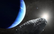 Neptune and Moons (IMAGE)